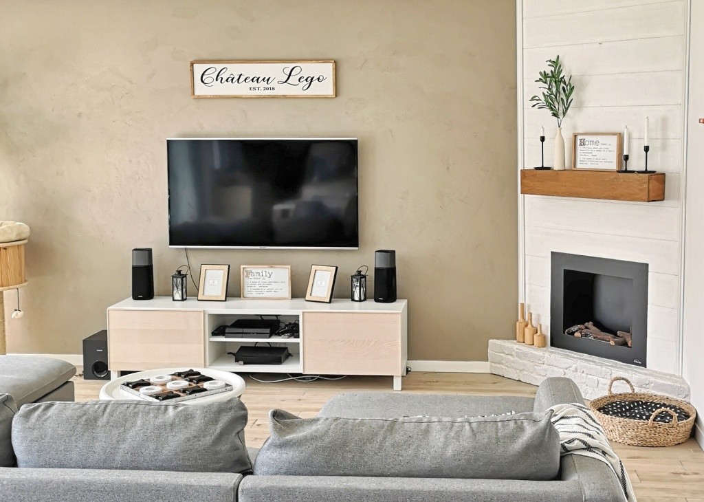 Ikea Hack Du Meuble Tv Besta Chateau Leg0